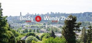 Surrey BC Realtors Becky & Wendy Zhou